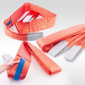 5t Hebeband - 5000kg - verschiedene Längen: 2 bis 10m - Hebebänder Krangurt Bergegurt Hebegurt Gurt