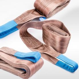 6t Hebeband - 6000kg - verschiedene Längen: 3 bis 10m - Hebebänder Krangurt Bergegurt Hebegurt Gurt