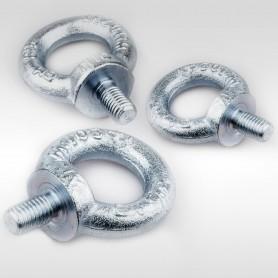 M6 - M24 Ringschrauben - Augenschrauben DIN 580 - WLL 0,09t - 1,8t
