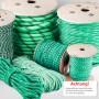 5mm - 20mm Polypropylenseil grün - PP Seil (Meterware: 10m - 200m)