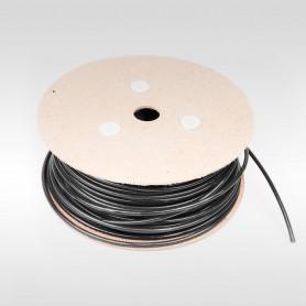Drahtseil 5mm verzinkt PVC ummantelt schwarz (Draht 2,5mm - 1x19) 10m bis 100m Stahlseil 5 mm
