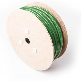 Drahtseil 6mm verzinkt PVC ummantelt grün (Draht 3mm - 1x19) 10m bis 100m Stahlseil 6 mm