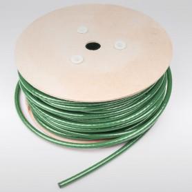 Drahtseil 8mm verzinkt PVC ummantelt grün (Draht 5mm - 6x7+FC) 10m bis 100m Stahlseil 8 mm
