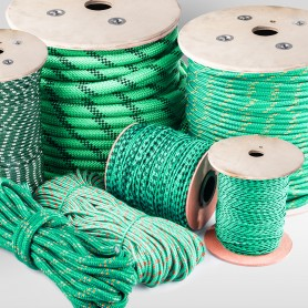 8mm Polypropylenseil grün - PP Seil (Meterware: 10m - 200m)