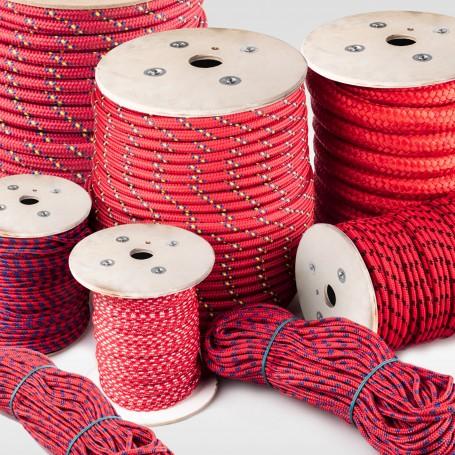10mm Polypropylenseil rot - PP Seil (Meterware: 10m - 200m)