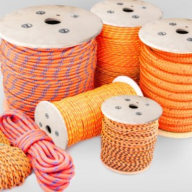 10mm Polypropylenseil orange - PP Seil (Meterware: 10m - 200m)