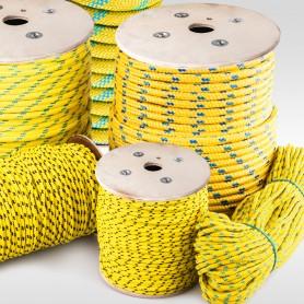 10mm Polypropylenseil gelb - PP Seil (Meterware: 10m - 200m)