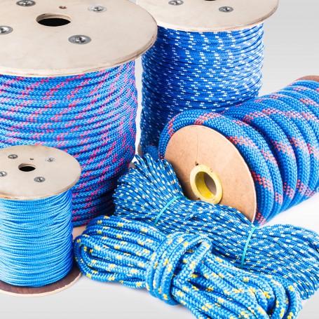 14mm Polypropylenseil blau - PP Seil (Meterware: 10m - 120m)
