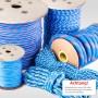 12mm Polypropylenseil blau - PP Seil (Meterware: 10m - 150m)