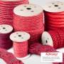 5mm Polypropylenseil rot - PP Seil (Meterware: 50m - 300m)