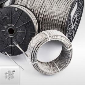 edelstahlseil drahtseil inox aisi316 iso2408 meterware 5m. Black Bedroom Furniture Sets. Home Design Ideas