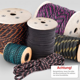 25mm Polypropylenseil schwarz - PP Seil (Meterware: 10m - 50m)