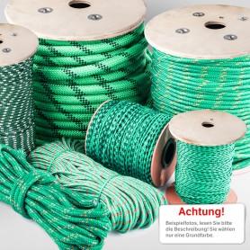 22mm Polypropylenseil grün - PP Seil (Meterware: 10m - 50m)