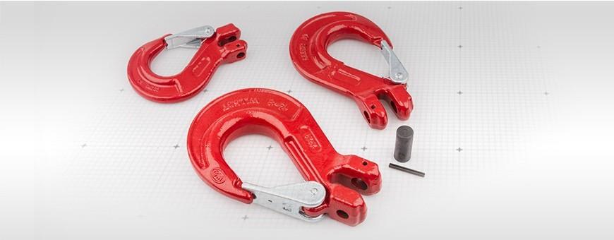 Kettenhaken mit Gabelkopf Tragkraft 1,18t 1,77t 2,45t Größe: 6mm, 8mm,
