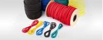 Expanderseile: eine große Auswahl an Farben Meterware von10m bis 200m