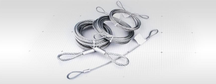 Stahlseil mit Ösen - Schauen Sie sich das Angebot von Seiloo.de an!