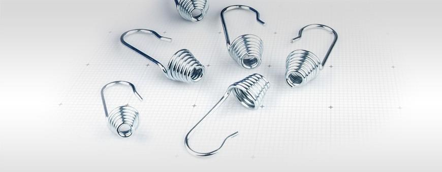 Spiralhaken Haken für Expanderseil Spanner Gummiseil Gummileine Seil